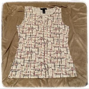 White House Black Market gently used top size S